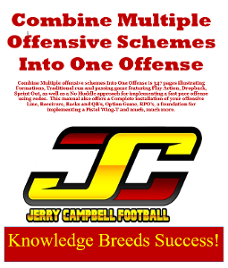 Combine Multiple Offensive Schemes Into One Offense