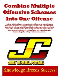 Combing Multiple Offensive Schemes Into One Offense